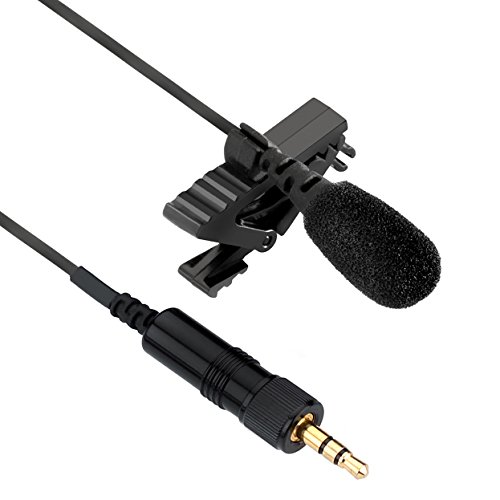 Senal UTM-86-35H Lavalier Mic with 3.5mm Connector for Sennheiser & Senal Wireless Transmitters