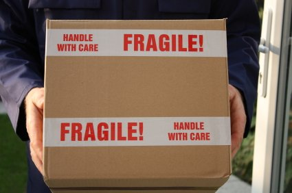 Fragile Printed Tape Box Shipping Packing Tapes 3