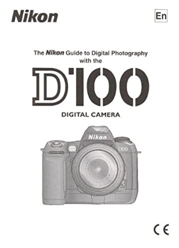 nikon d100 digital instruction manual original manual for d 100 rh amazon com nikon d100 manual nikon d100 guide book