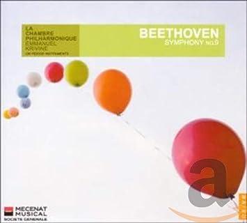 Beethoven Choeur De Chambre Les Elements Le Chambre Philharmonique Emmanuel Krivine Symphony No 9 Amazon Com Music