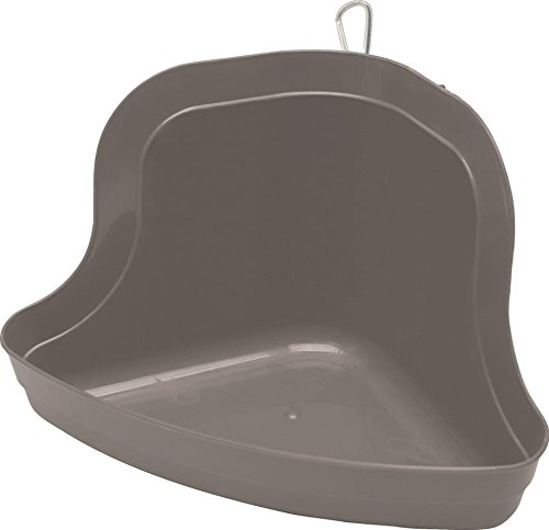 Kaytee Tall Corner Litter Pan with Quick Lock, Color - Tray Bunny