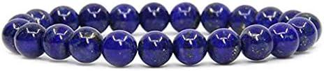 Men Women 8mm Lava Chakra Beads Elastic Natural Stone Agate