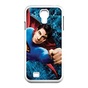 Superman Samsung Galaxy S4 9500 Cell Phone Case White Fbhwk