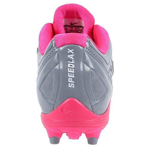 Nike Womens Speedlax 4 Lacrosse Cleats Stealth/Pink Flash Size 12