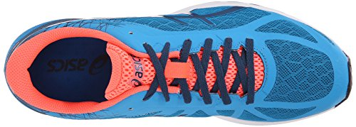 Asics Mens Gel Ds Racer 11 Scarpa Da Corsa Blu Metile / Inchiostro / Corallo Flash