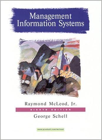 Management Information System Mcleod Ebook