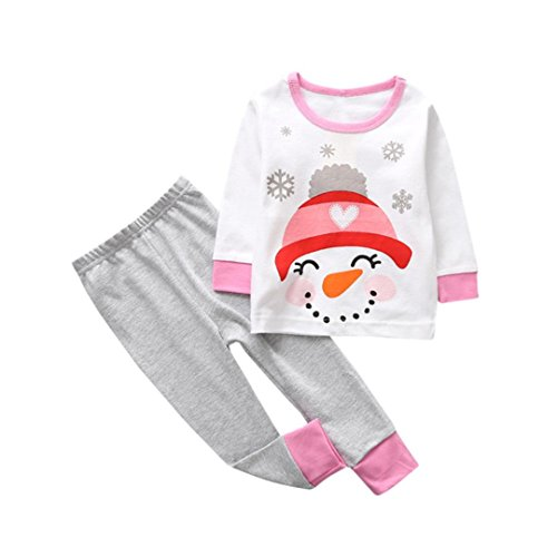 Toddler Kids Baby Girl Christmas Pajamas