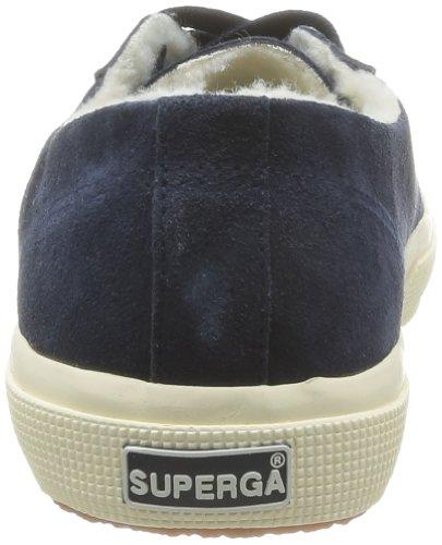 SUPERGA 2750 Suebinu - Zapatillas de Deporte de ante Unisex azul - Bleu (Blue)