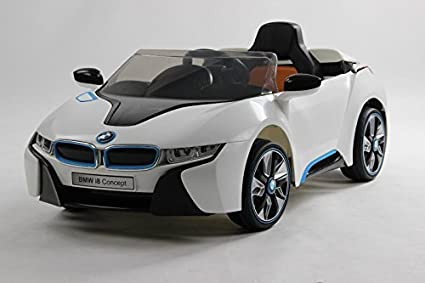 Amazon Com Bmw I8 Licensed Kids Ride On Car With Parental Control