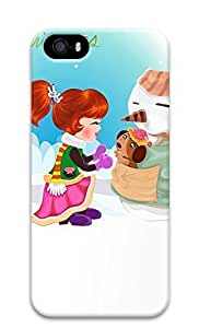 iPhone 5 5S Case Cartoon Merry Christmas 3D Custom iPhone 5 5S Case Cover