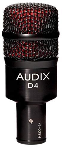 Audix D4 Dynamic Instrument Microphone
