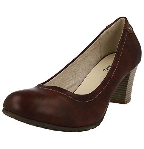 Escarpins Footwear Marron Foster Femme Foster Footwear Femme Marron Escarpins vEwPZCq