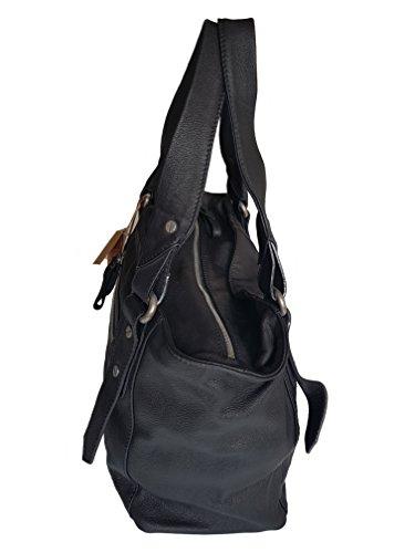 La De Asas De Cuero 001 M2003 De Timberland Bolsa Mujer La Negro WUqHwB4Rn