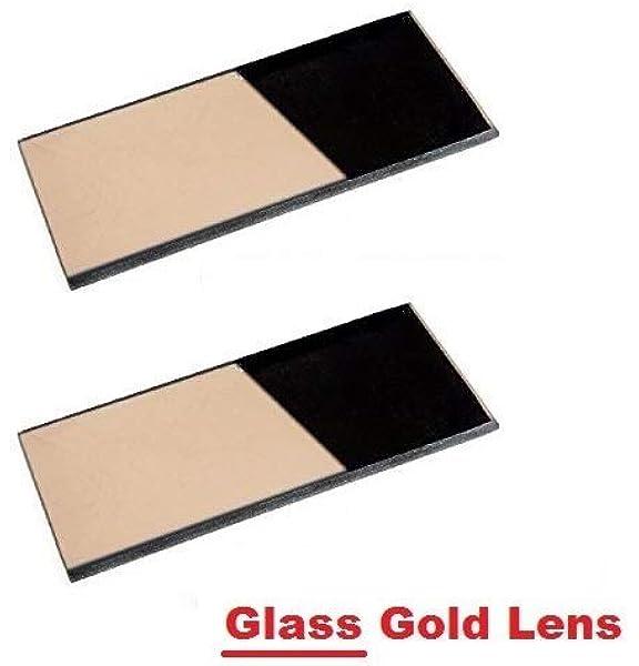 Shade 13 Glass Helmet Filter 2 x 4.25 Welding Hood Lens