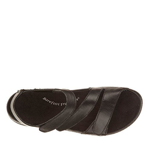 Drew Angela Womens Sandal Black Smooth Leather q2M82lox