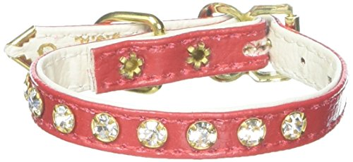 Mirage Pet Products No.10 Dog Collar, Size 8, Red
