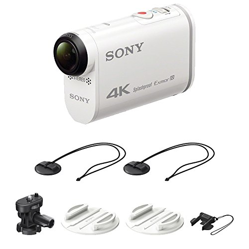 Sony FDR-X1000V 4K Action Cam with VCT-BDM1 Board Mount