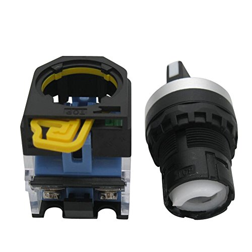 Aspiring Ac 380v 10a 3 Position Rotary Selector Select Switch Key Lock 1 No 1 Nc Dpst Lighting Accessories Lights & Lighting