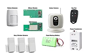 Honeywell Lynx Touch L5200 Video Kit with IPCAM-WI2, Wifi Module and Zwave Module from Honeywell