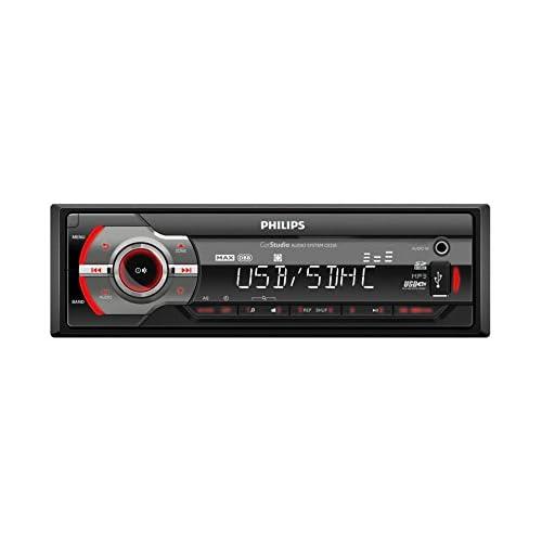 chollos oferta descuentos barato Philips PHICE233 Radio para Coche Color Negro