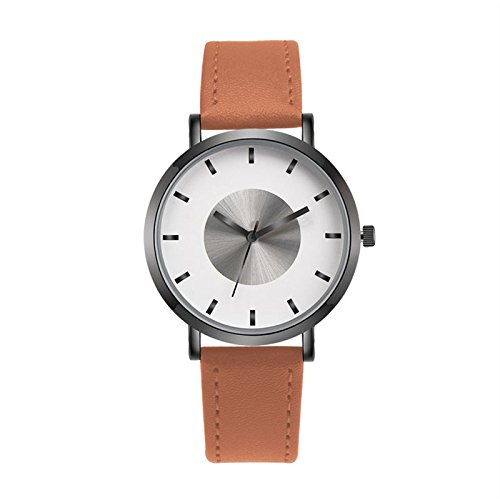 Rosepoem Relojes analógicos de cuarzo Relojes minimalistas moda reloj deportivo Simple reloj de pulsera