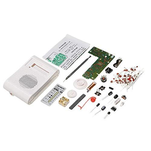 Quintion Child Herramienta de Bricolaje For la enseñanza y el Aprendizaje electrónicos DIY Kit de Radio Am FM portátil…