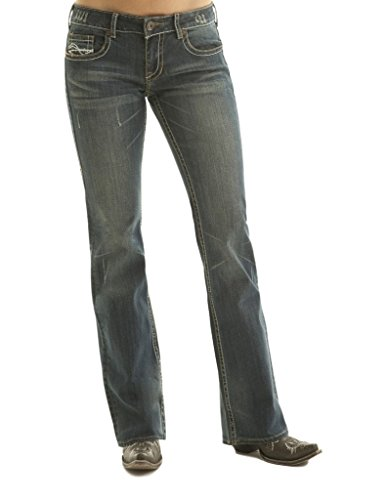 Cowgirl Tuff Womens Dont Fence Me in Jeans - J-Dfmi