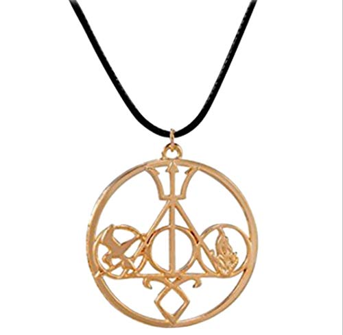 OPCC The Novel Classic Movie Necklace Mix The Mortal Instruments /Hunger Games Divergent/ Percy Jackson/ Harry Potter