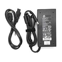 Original Slim HP 150w Power Supply HSTNN-CA27 for HP EliteBook 8560w, 8730w, 8740w, 8760w, 8440w, 8460w, 8530w, 8540w, Mobile Workstation, 100% compatible with part numbers: HSTNN-CA27, 646212-001 , 645509-002, A150A05AL.