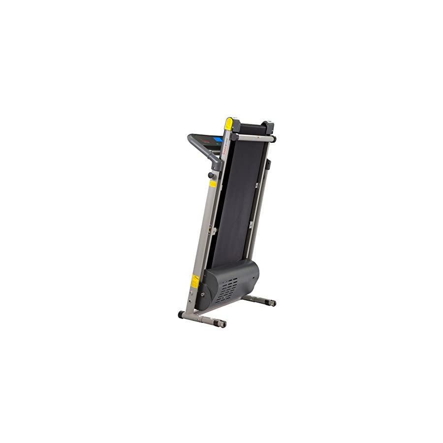 Sunny Health & Fitness SF T7632 Space Saving Folding Treadmill w/LCD Display