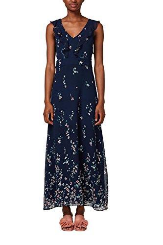 ESPRIT Collection Vestido de Fiesta para Mujer Azul (Navy 400)