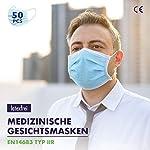50-medizinische-Einweg-Masken-EN14683-Typ-2R-CE-zertifiziert-Atemschutzmasken-geprft-und-mit-Zertifikaten-medical-masks-mit-98-BFE-Typ-IIR-Alltagsmaske-mit-Versand-aus-Deutschland
