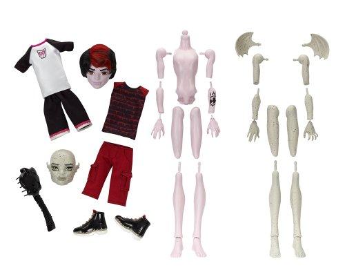 Monster High Create-A-Monster Gargoyle-Vampire Boy Starter Set (Monster High Gargoyle Doll)