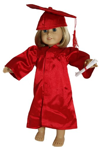 Buys By Bella's Graduation Robe for 18 Inch Dolls Like American Girl, Baby & Kids Zone