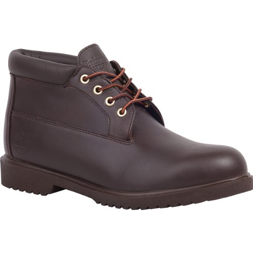 Timberland Men's Waterproof Chukka,Brown Smooth,US 10 W