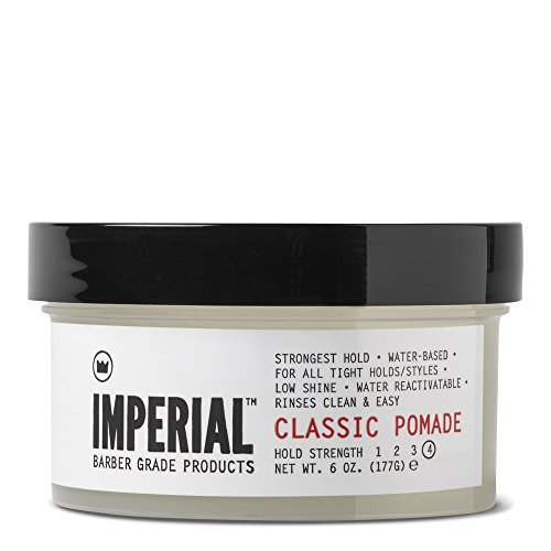 Imperial Barber Grade Products Classic Pomade, 6 Oz.