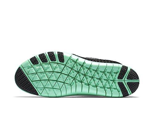 Nike Mujer Metallic Negro de Glow Zapatillas Silver Black green 003 Deporte 843966 XqxT8YXwr