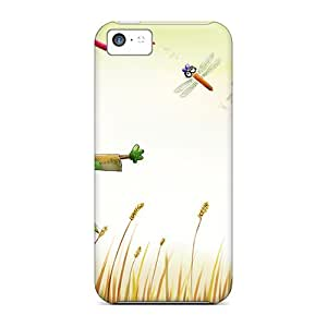 Hard Plastic Iphone 5c Cases Back Covers,hot Happy Farm Cases At Perfect Customized