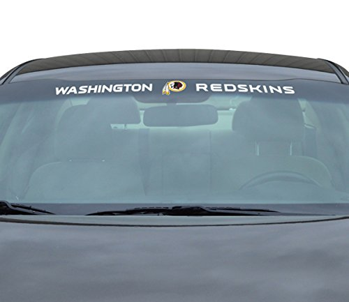 - Team ProMark NFL Washington Redskins Windshield Decal, Maroon, Standard