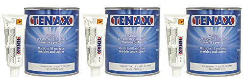Tenax Travertine Filler - 1 liter (Pack of 3) by Tenax (Image #2)