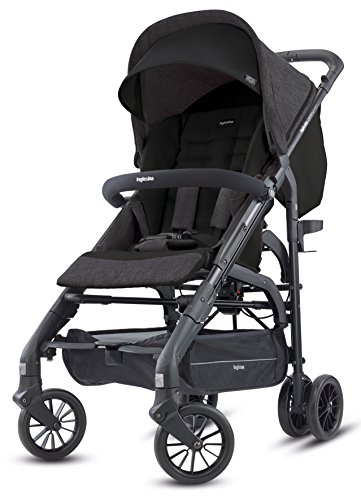 Inglesina Zippy Light Stroller, Volcano Black, One Size