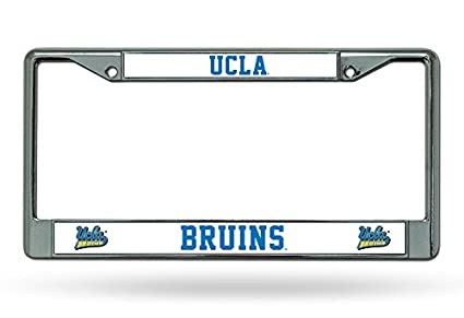 Amazon.com : Rico Industries NCAA UCLA Bruins Chrome License Plate ...