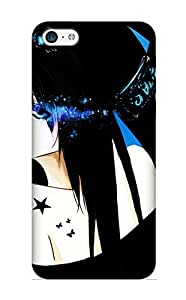 meilinF000New Diy Design Anime Black Rock Shooter For iphone 5/5s Cases Comfortable For Lovers And Friends For Christmas GiftsmeilinF000