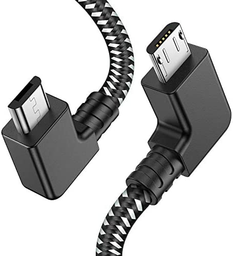 PRO OTG Cable Works for Lava ARC 9 Right Angle Cable Connects You to Any Compatible USB Device with MicroUSB
