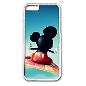 iphone 6 plus case,custom iphone 6 plus case, Mickey Mouse diy iphone 6 plus case,pc Material,Drop Protection,Shock Absorbent,Transparent Case hjbrhga1544