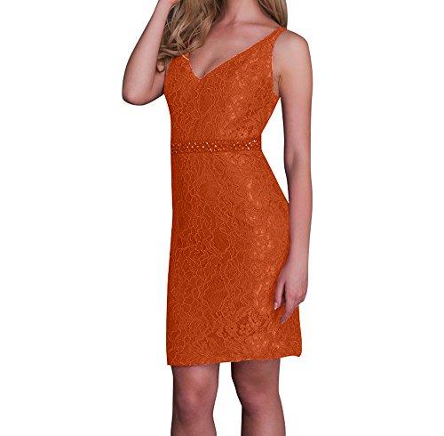 Rot Orange mia La Abendkleider Etuikleider Brautmutterkleider Kleider Jugendweihe Knielang Ballkleider Pailletten Braut Festlichkleider qEEOd7