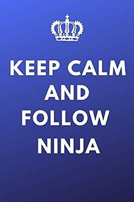 Keep Calm And Follow Ninja: Tyler Belvins Fan Notebook ...