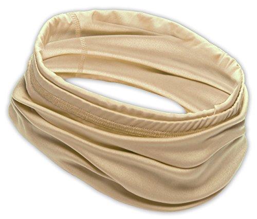 Dog Ski Tube - 12-in-1 Cooling Headwear - UPF 30 Versatile Outdoors & Daily Headwear - 12 Ways to Wear including Headband, Neck Wrap, Bandana, Face Mask, Helmet Liner. Performance Moisture Wicking Polyester