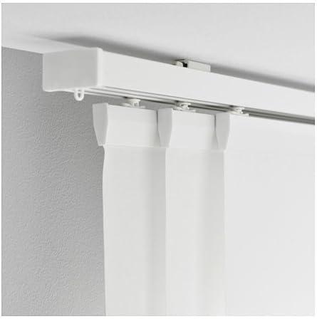 IKEA VIDGA Halter für Schiebegardine in weiß; 60cm