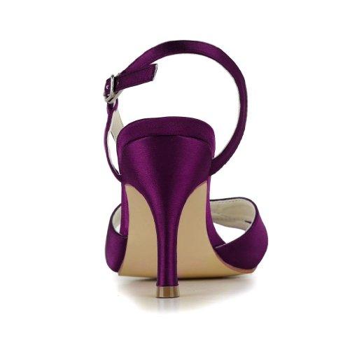 Jia chaussures mariage Jia Escarpins pour 1415 Violet de femme mariée Wedding xSSwYr
